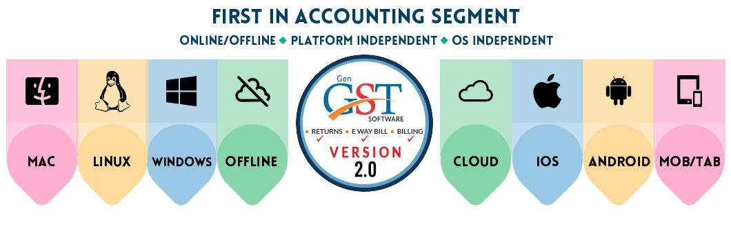 Gen GST Software Version 2